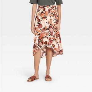 Knox Rose wrap skirt